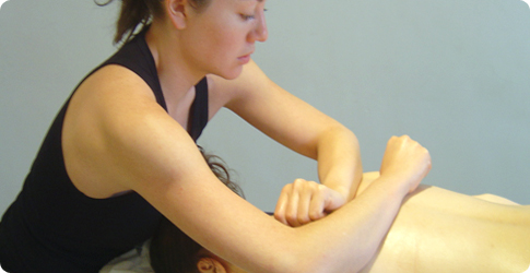 deep tissues massage courses